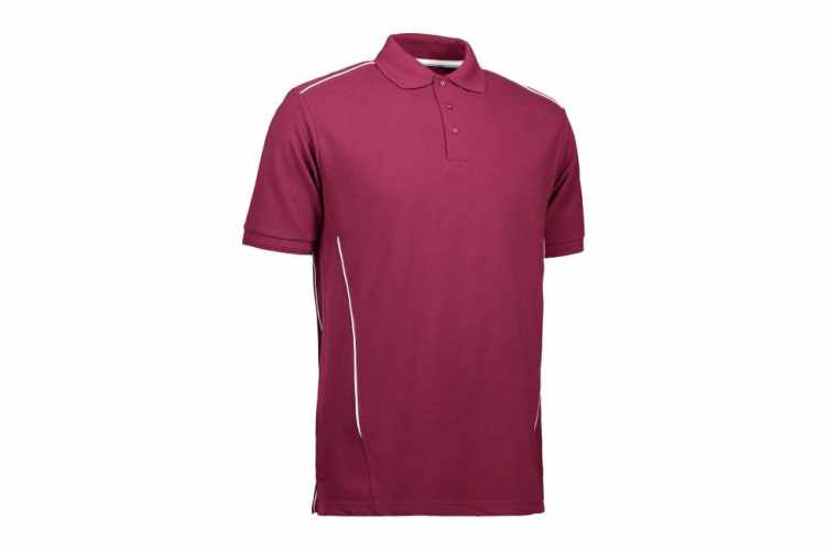 ID PRO herre / unisex wear poloshirt | pipings - 0328