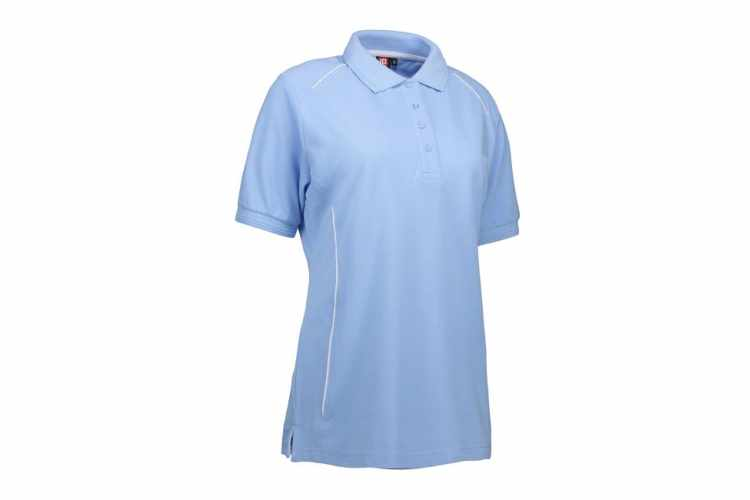 ID PRO dame wear poloshirt|piping - 0329