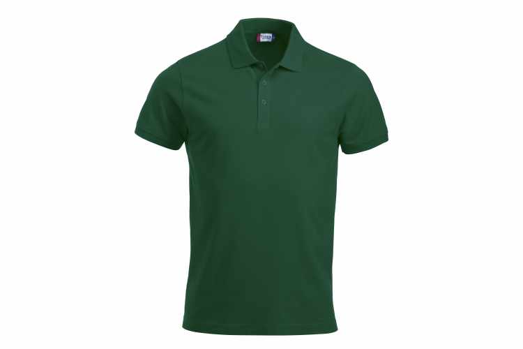 CLIQUE bottle green herre polo t-shirt CLASSIC LINCOLN S/S 028244