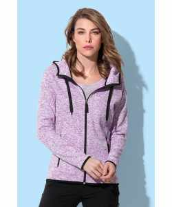 STEDMAN dame knit fleece jakke ST5950