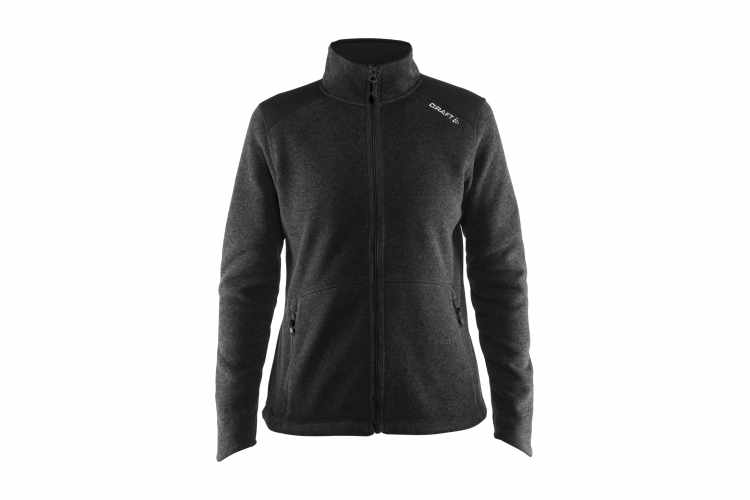 Noble dame zip jacket i fleece