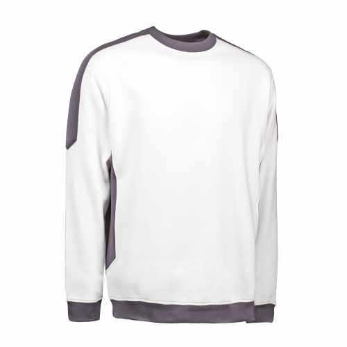 23ba282eaa1 ID PRO wear herre/unisex sweatshirt med kontrast