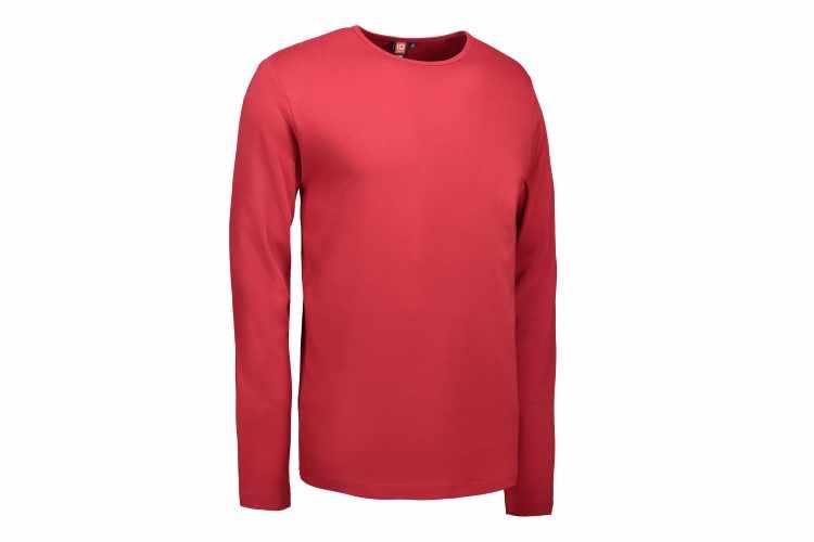 ID0518 Interlock T shirt   langærmet