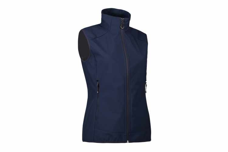 ID 0825 Funktionel dame softshell-vest