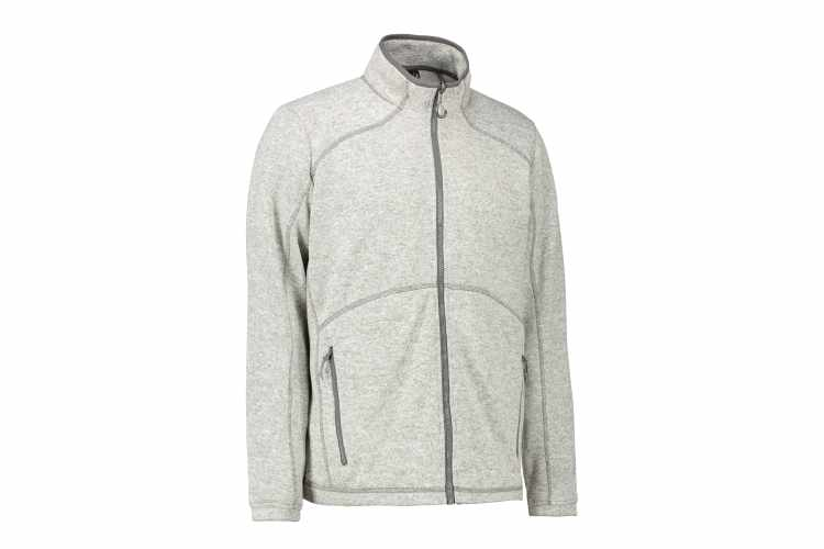 ID Herre / unisex  Zip'n'Mix melange fleece - 0847