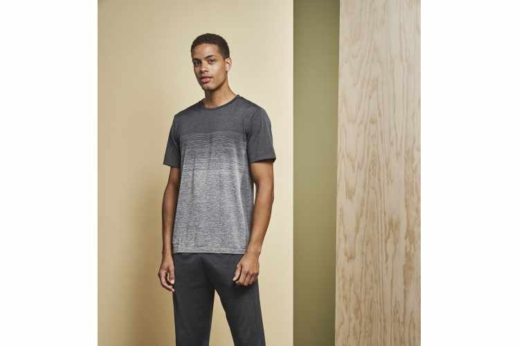Geyser man / unisex  seamless striped s/s T-shirt - 21024