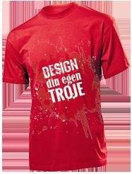 Design dit eget tøj | T shirt, trøjer, hoodie m.m → BILLIGT
